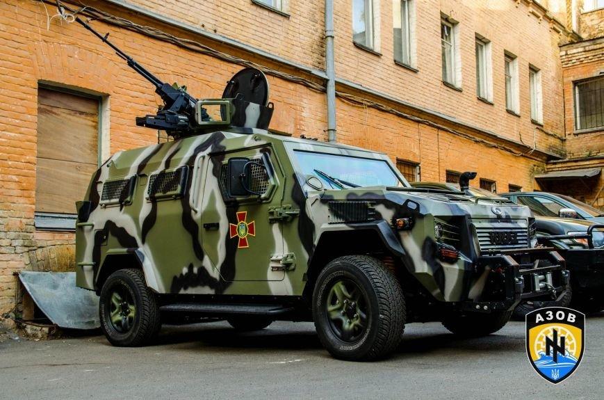 МВД подарило полку «Азов» бронеавтомобиль за 215 тыс. долларов (ФОТО), фото-3