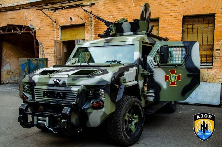 МВД подарило полку «Азов» бронеавтомобиль за 215 тыс. долларов (ФОТО), фото-1