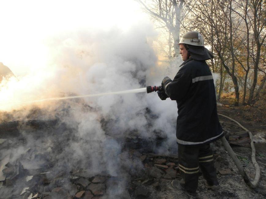 В Черниговской области едва не сгорел целый поселок, фото-1