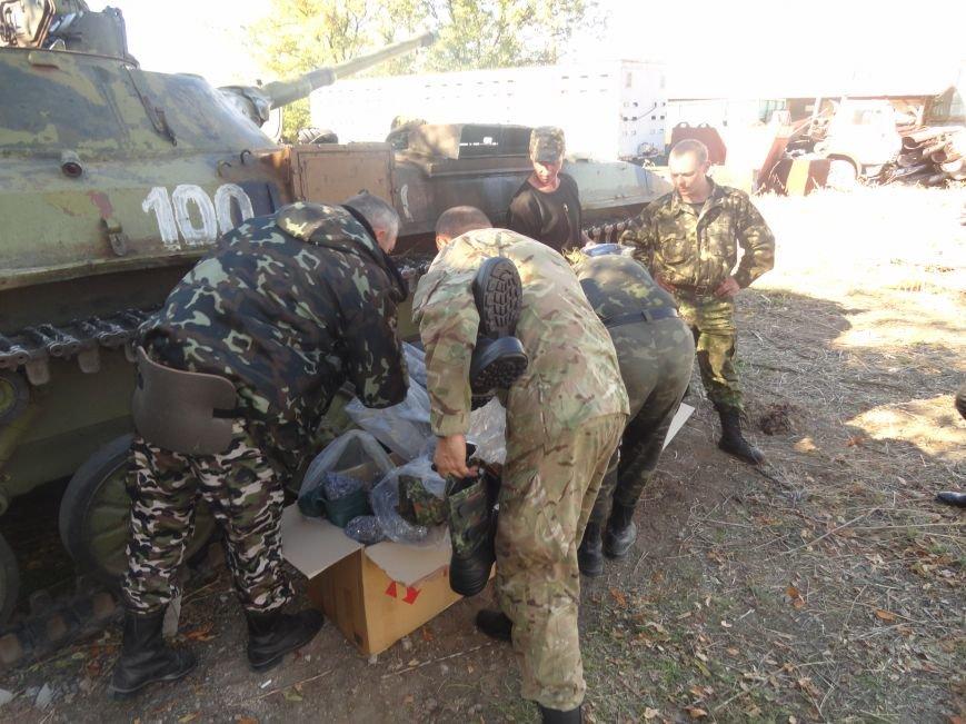 Сегодня под Мариуполем украинские танкисты отогнали танк ДНР от своих позиций (ФОТО), фото-1