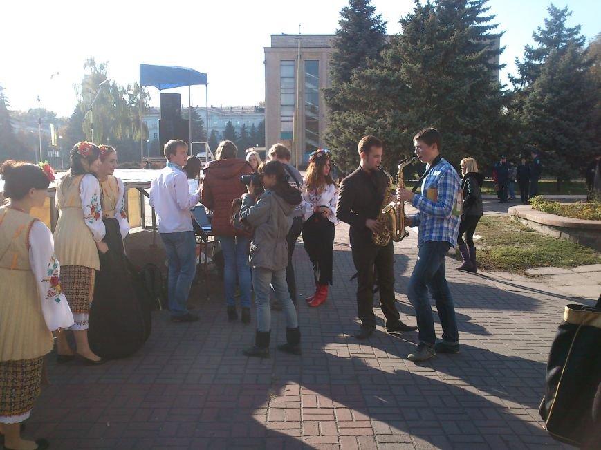 Благотворительный концерт «Мы за мир» провели студенты Днепродзержинского Музучилища, фото-7