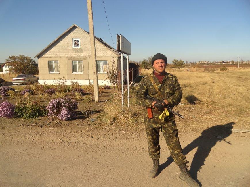 Линия фронта вокруг Мариуполя, фото-1