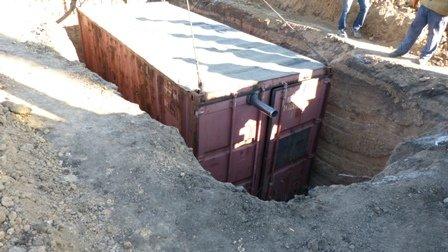 В Мариуполе начался монтаж утепленных контейнеров на линии обороны города (ФОТО), фото-6
