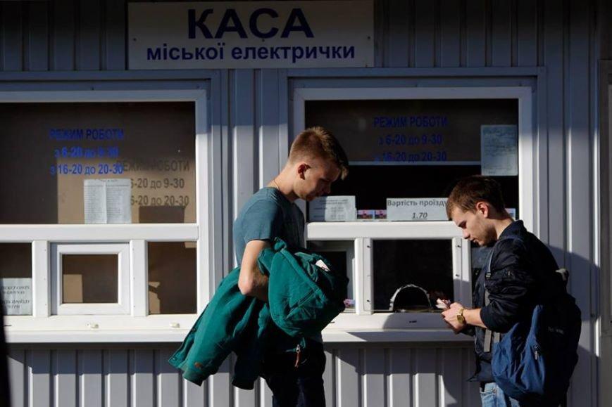 Мэр Киева прокатился на городской электричке (ФОТО), фото-2