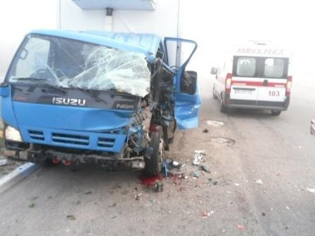 В Днепродзержинске спасатели извлекли водителя из поврежденного в ДТП автомобиля, фото-1