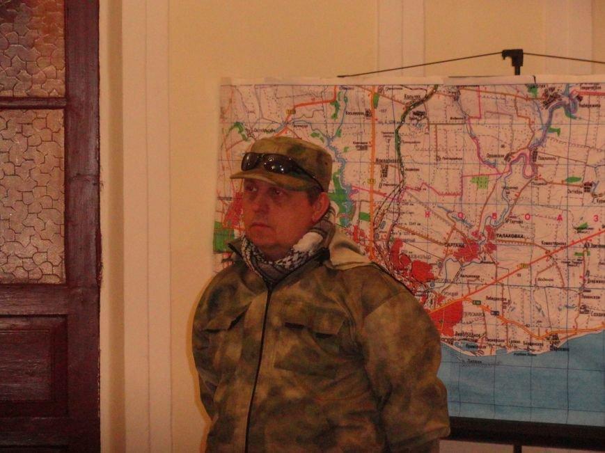 Представители киевского Майдана и волонтеры Мариуполя решили взять  под контроль снабжение фронта со стороны МВД и Минобороны (ФОТО), фото-8