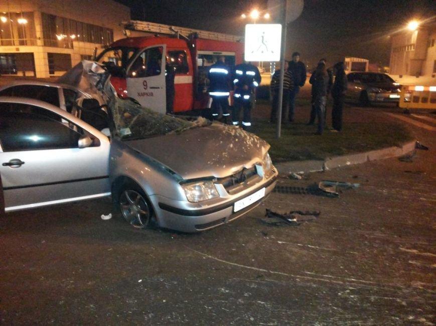 На улице Шевченко в тройном ДТП погиб водитель автомобиля, фото-1