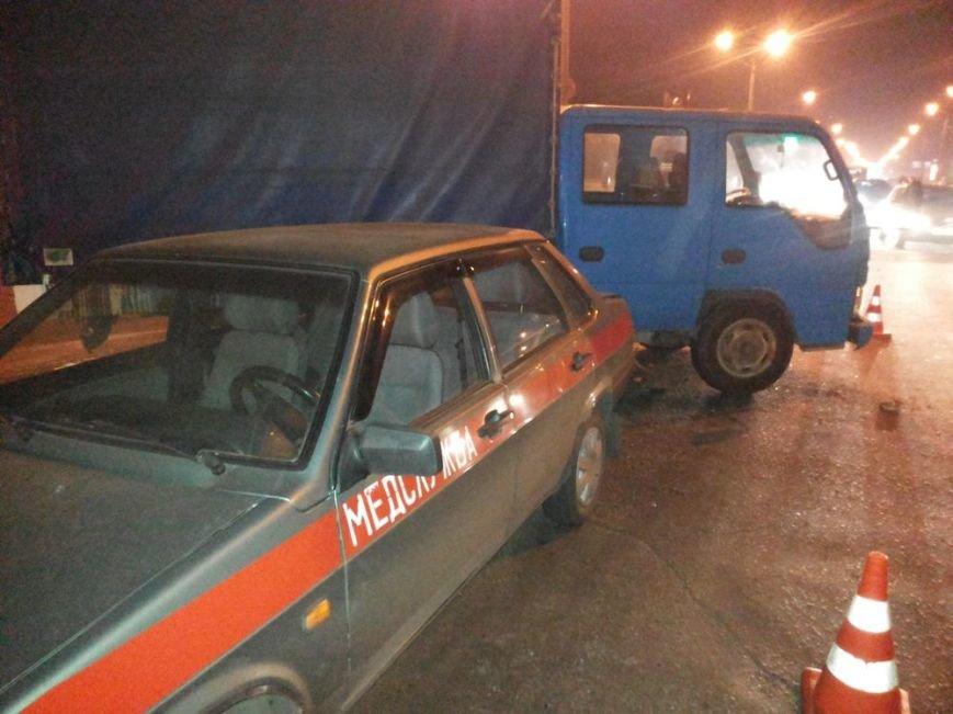 На улице Шевченко в тройном ДТП погиб водитель автомобиля, фото-3