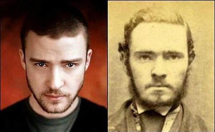 Поразительное сходство голливудских знаменитостей и их исторических двойников, фото-4
