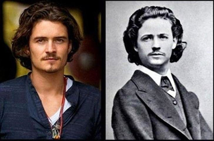 Поразительное сходство голливудских знаменитостей и их исторических двойников, фото-3