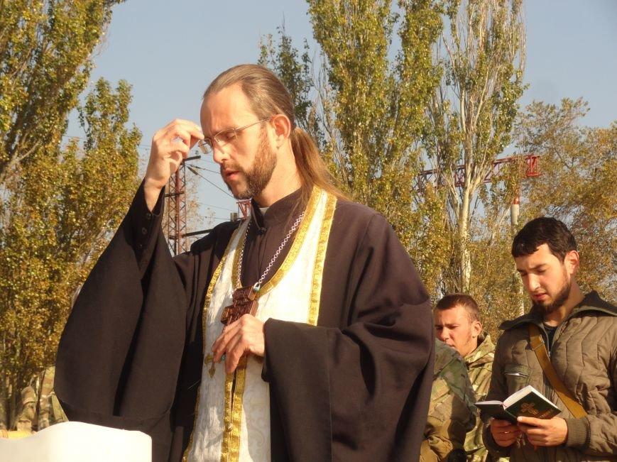 В мариупольском батальоне МВД «Святая Мария» отмечали Покров Божьей Матери (ФОТОРЕПОРТАЖ), фото-18