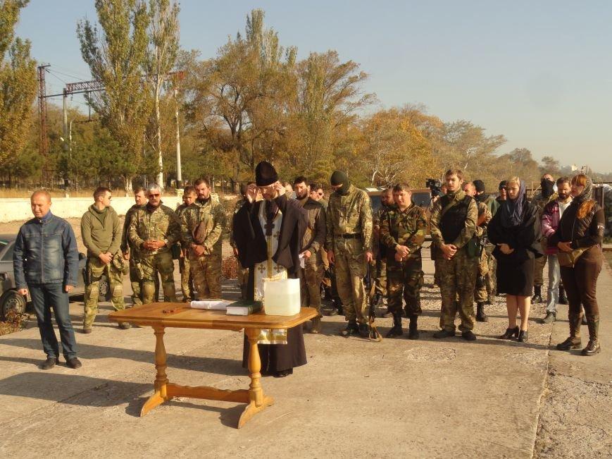 В мариупольском батальоне МВД «Святая Мария» отмечали Покров Божьей Матери (ФОТОРЕПОРТАЖ), фото-15