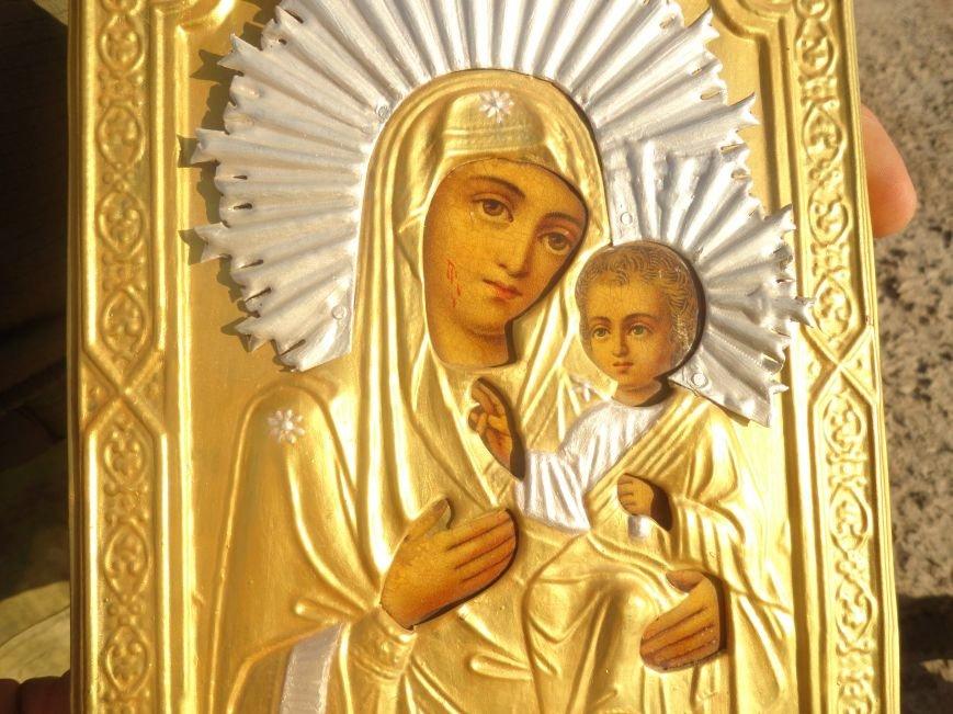 В мариупольском батальоне МВД «Святая Мария» отмечали Покров Божьей Матери (ФОТОРЕПОРТАЖ), фото-26