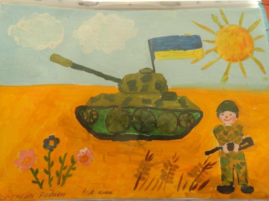 Военнослужащие батальона «Святая Мария» лепили украинские вареники с мариупольскими школьниками (ФОТОРЕПОРТАЖ), фото-23