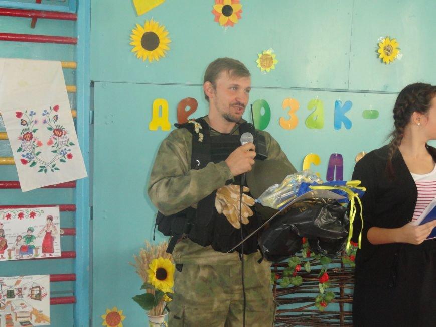 Военнослужащие батальона «Святая Мария» лепили украинские вареники с мариупольскими школьниками (ФОТОРЕПОРТАЖ), фото-14