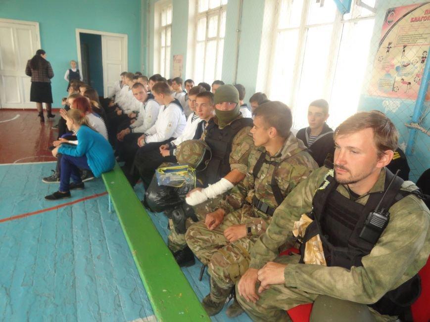 Военнослужащие батальона «Святая Мария» лепили украинские вареники с мариупольскими школьниками (ФОТОРЕПОРТАЖ), фото-7