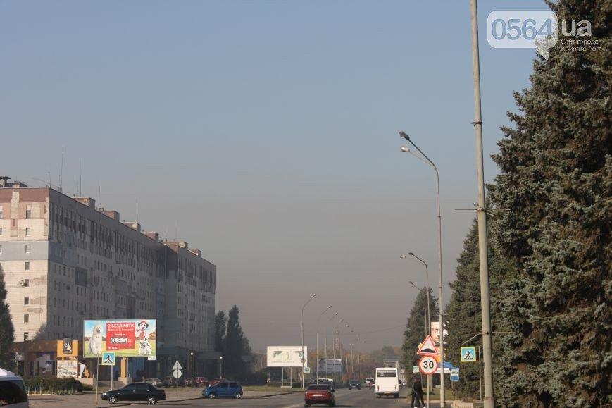 Криворожан «накрыло» промышленными выбросами, а в районо выдавали агитационный материал педагогам, фото-1