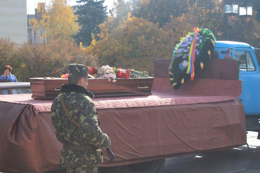 В Сумах попрощались с бойцом АТО, который погиб от пули украинского офицера, фото-12