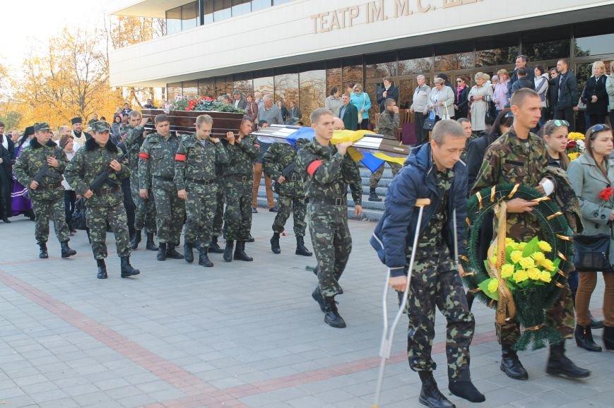 В Сумах попрощались с бойцом АТО, который погиб от пули украинского офицера, фото-10