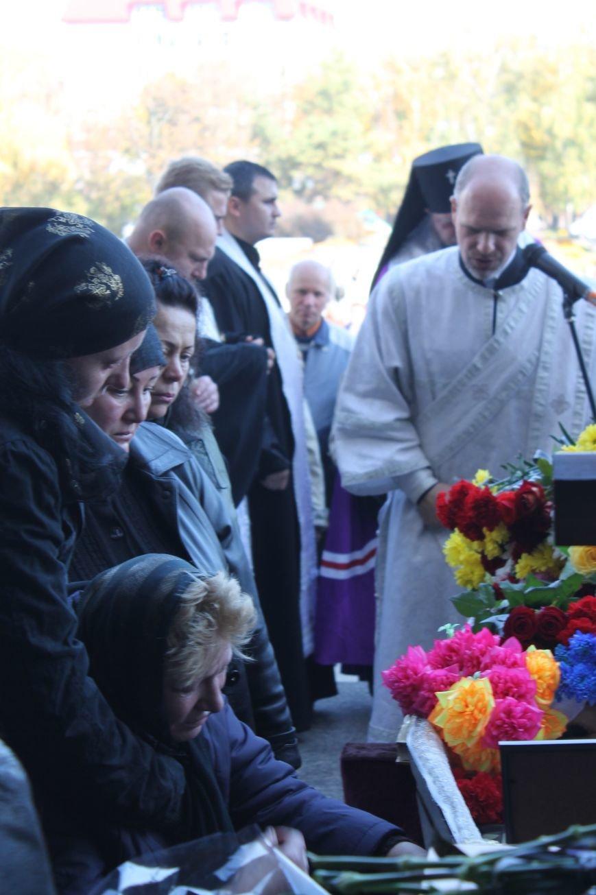 В Сумах попрощались с бойцом АТО, который погиб от пули украинского офицера, фото-4