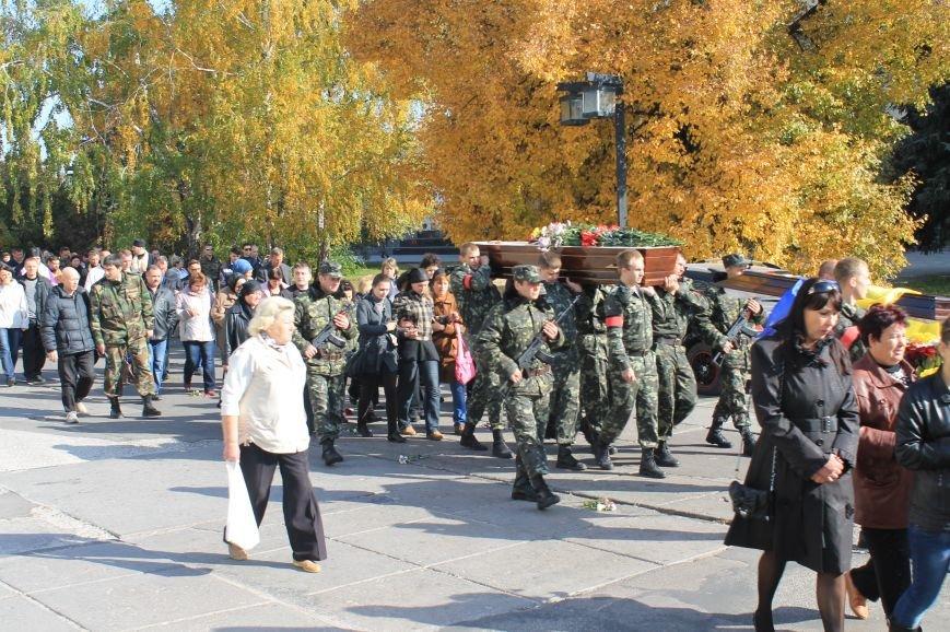 В Сумах попрощались с бойцом АТО, который погиб от пули украинского офицера, фото-11