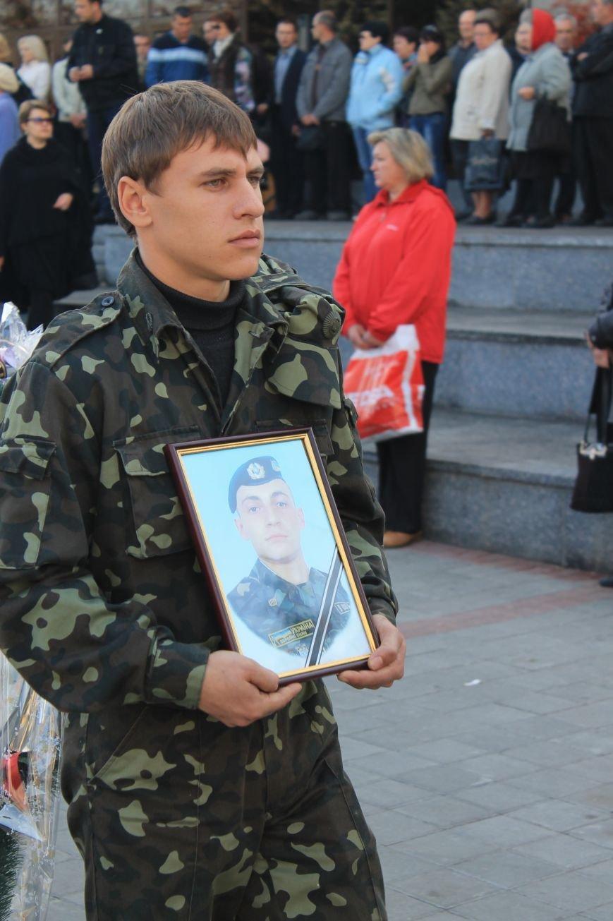 В Сумах попрощались с бойцом АТО, который погиб от пули украинского офицера, фото-9