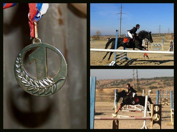 Юные всадницы Ялтинской Федерации конного спорта успешно дебютировали на Первенстве КСК «Спартак», фото-6