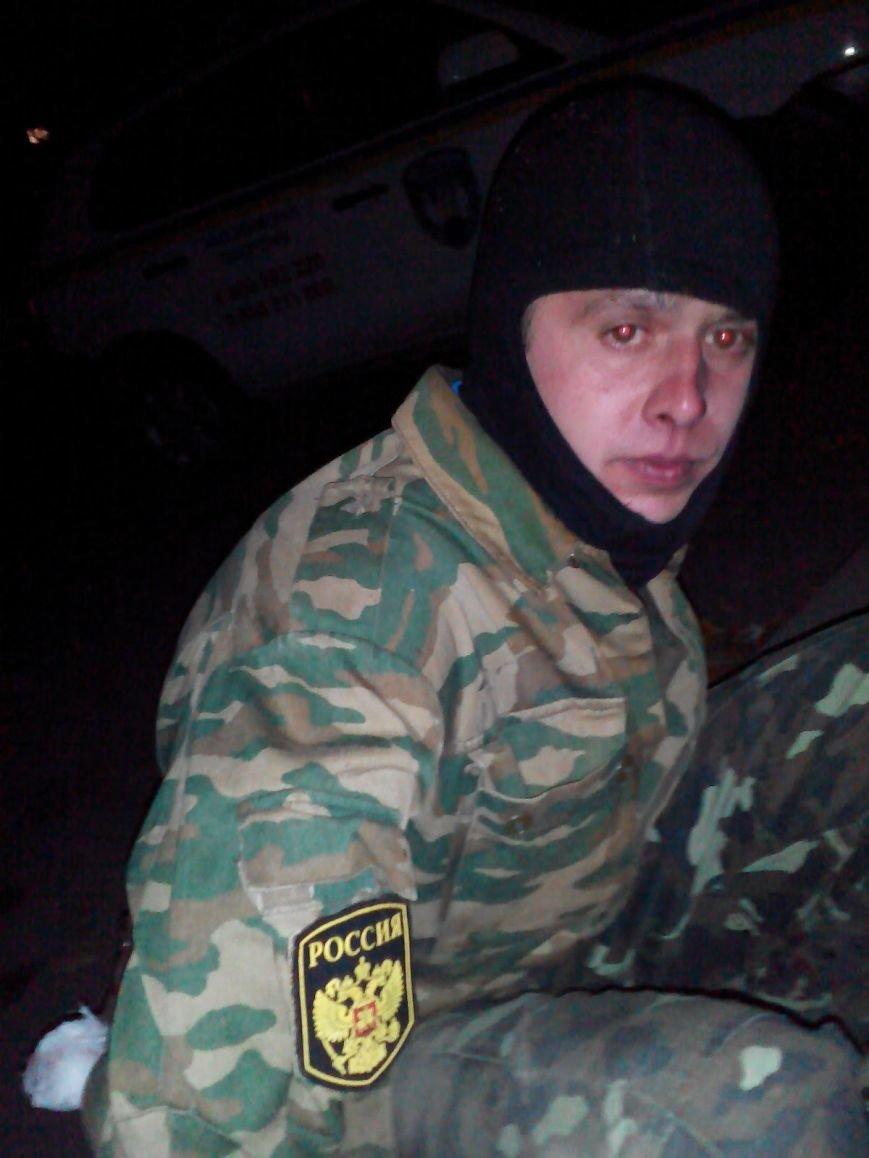 Харьковчанин в российской военной форме пытался взорвать отделение Приватбанка, фото-1
