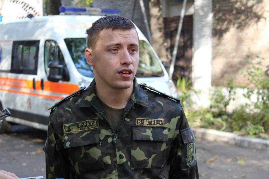 Сегодня в Днепропетровский военный госпиталь привезли необходимые лекарства, фото-2