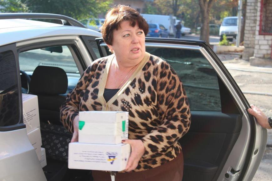 Сегодня в Днепропетровский военный госпиталь привезли необходимые лекарства, фото-3