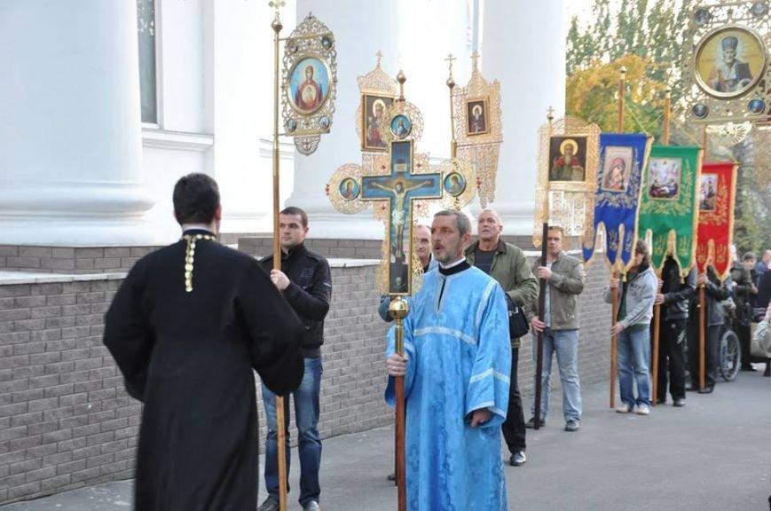 Виталий Богданов принял участие в крестном ходе в Херсоне. (фото), фото-1