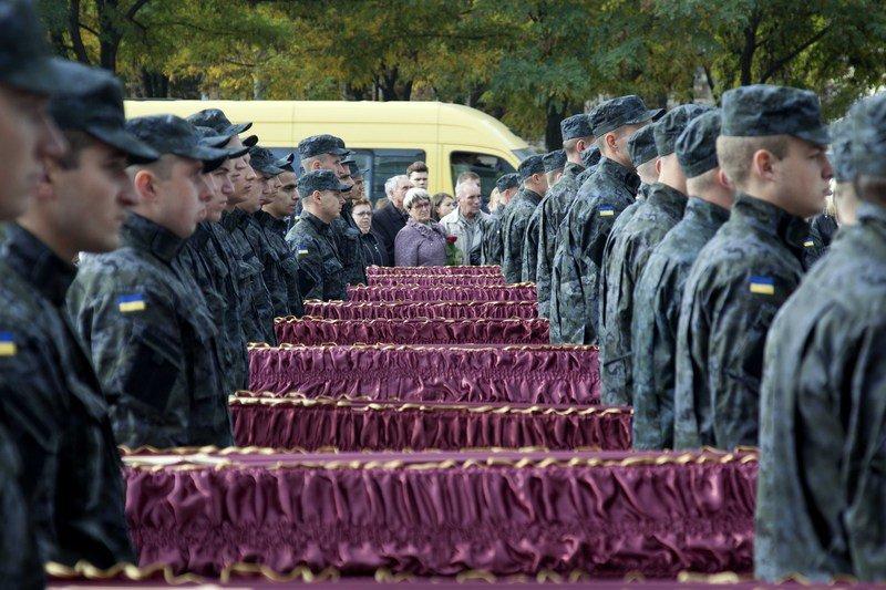 В Днепропетровске похоронили ещё 21 погибшего в зоне АТО, фото-6