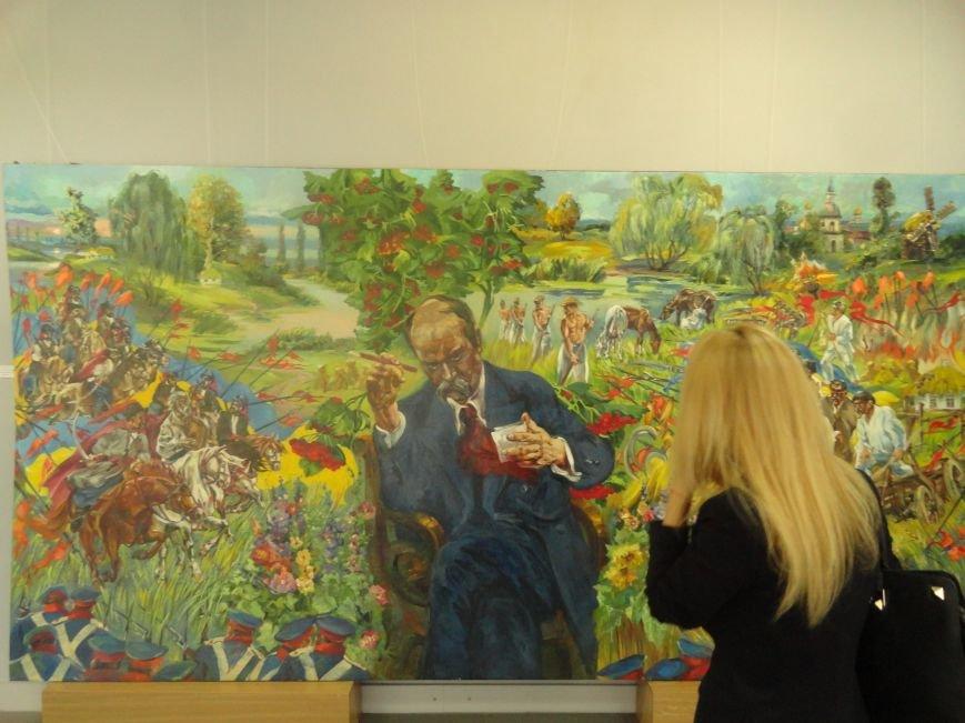 В Мариупольском центре современного искусства выставили картины, спасенные из плена ДНР (ФОТОРЕПОРТАЖ), фото-13