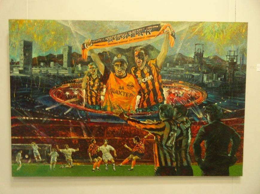 В Мариупольском центре современного искусства выставили картины, спасенные из плена ДНР (ФОТОРЕПОРТАЖ), фото-11