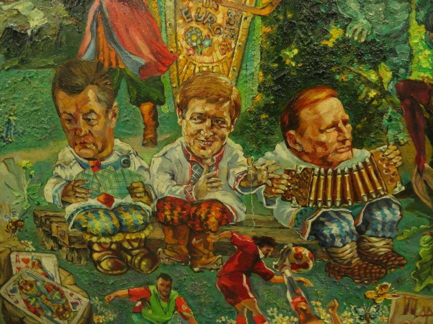 В Мариупольском центре современного искусства выставили картины, спасенные из плена ДНР (ФОТОРЕПОРТАЖ), фото-8