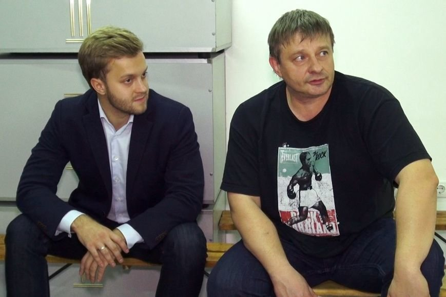 Константин Усов посетил спортивную школу «Чемпион», фото-1