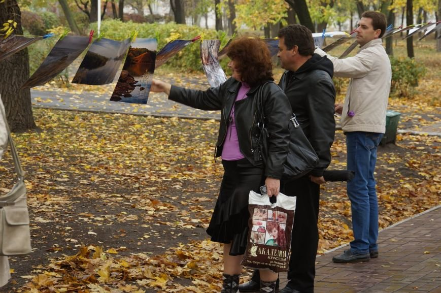 Мариупольцы обменялись фотографиями в Городском саду (ФОТО), фото-1