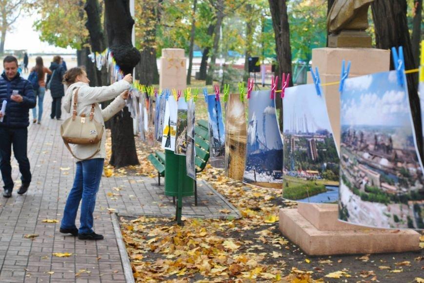 Мариупольцы обменялись фотографиями в Городском саду (ФОТО), фото-7
