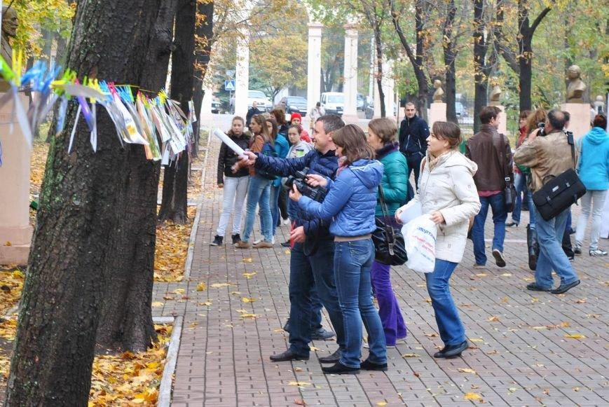 Мариупольцы обменялись фотографиями в Городском саду (ФОТО), фото-9