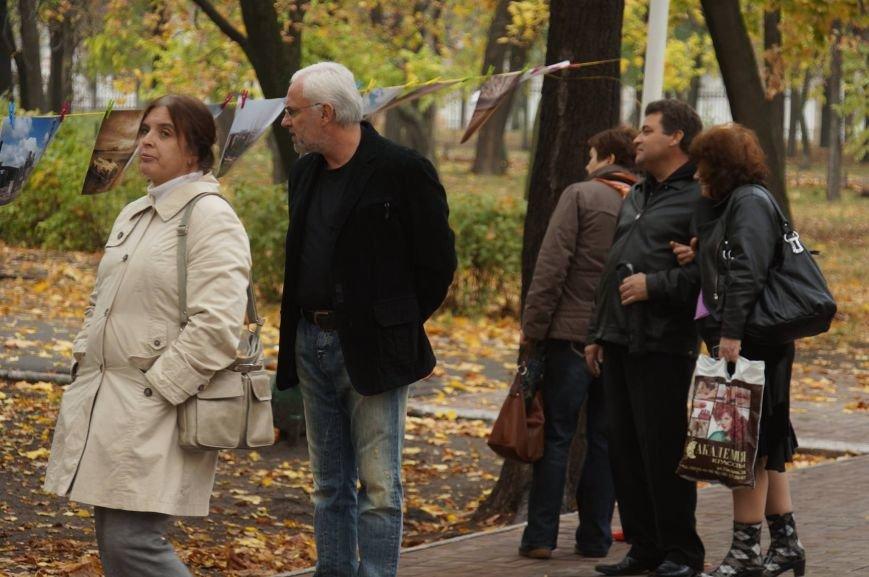 Мариупольцы обменялись фотографиями в Городском саду (ФОТО), фото-10