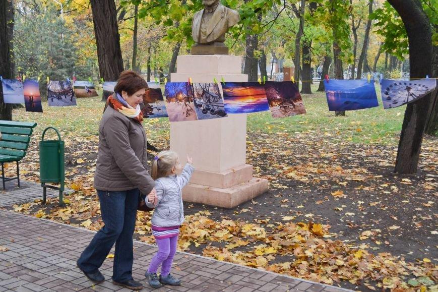 Мариупольцы обменялись фотографиями в Городском саду (ФОТО), фото-6