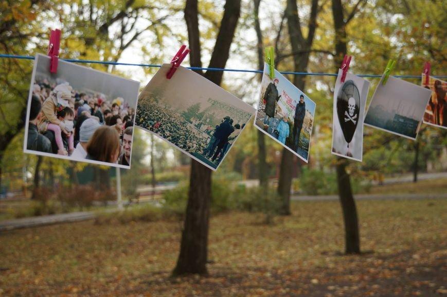 Мариупольцы обменялись фотографиями в Городском саду (ФОТО), фото-8