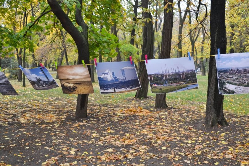 Мариупольцы обменялись фотографиями в Городском саду (ФОТО), фото-5