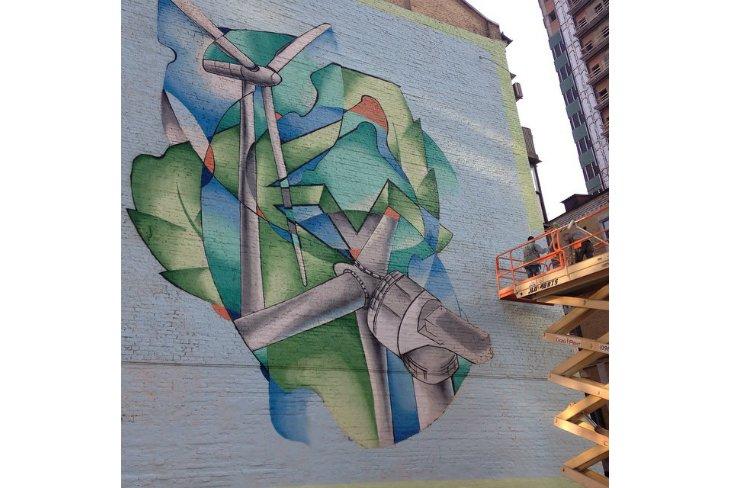 Художники порадовали киевлян новым граффити (ФОТО), фото-1