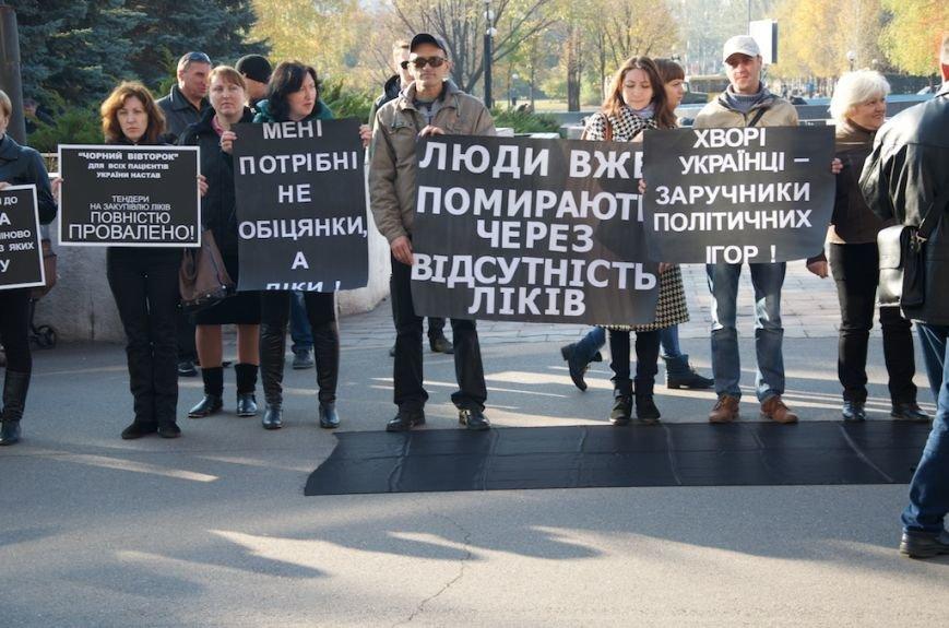 Криворожане повалили Ленина, митинговали под РОВД и горисполкомом, фото-3