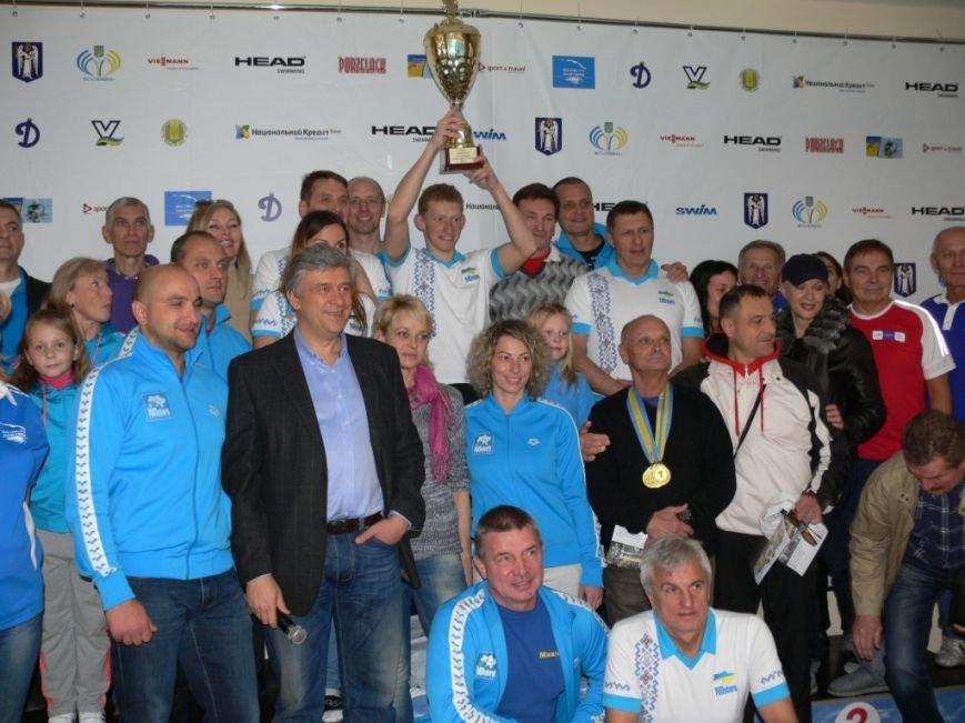 Черниговские пловцы-ветераны завоевали Кубок Киева, фото-3