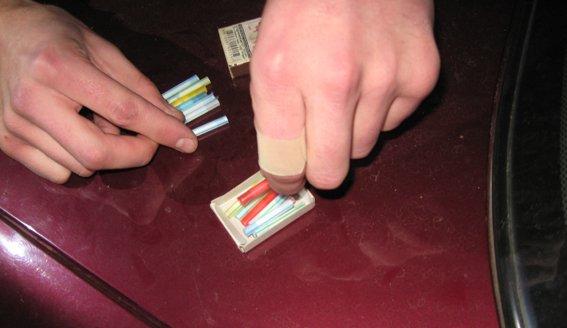 В Днепропетровской области у криворожан была выявлена 61 трубочка с метамфетамином, фото-1