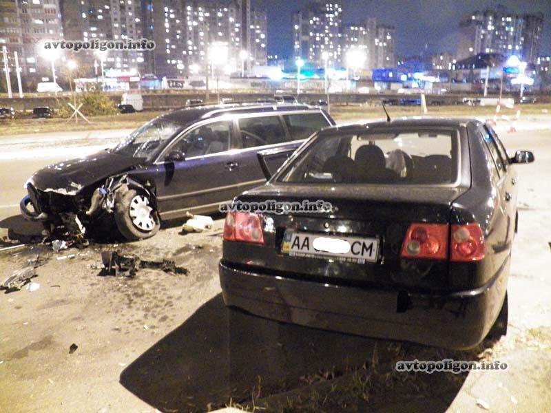 В Киеве пьяный водитель стал виновником ДТП на улице Бальзака (ФОТО), фото-1