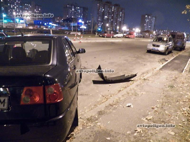 В Киеве пьяный водитель стал виновником ДТП на улице Бальзака (ФОТО), фото-2