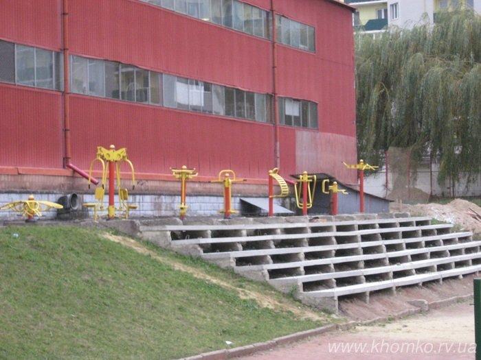 У центральному спорткомплексі Рівного урочисто презентували оновлений ігровий зал (Фото), фото-3